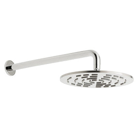 vado-geometry-round-shower-head-&-arm-chrome