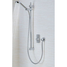 Aqualisa Quartz Touch Smart Conc W/Adjustable And Wall Fixed Heads - Hp/Combi | Aqualisa Digital Showers | QZSTA1BVDVFW20