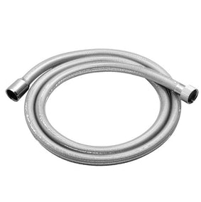 vado-zoo-smooth flex-anti-twist-silver-shower-hose-chrome