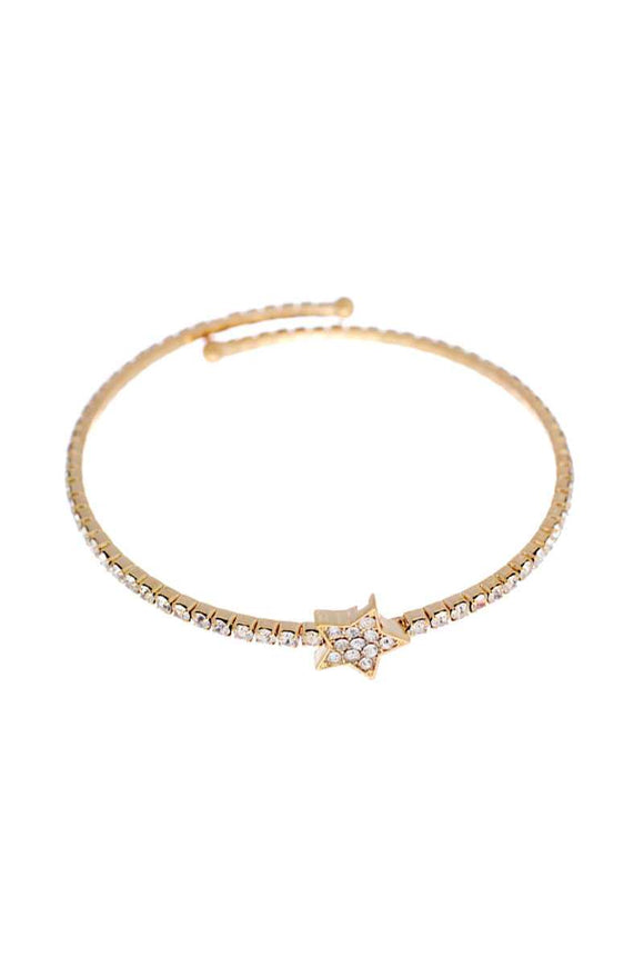 Cute Fashion Rhinestone Star Bracelet