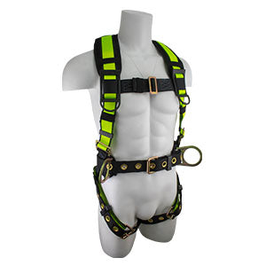 PRO Construction Harness w/ Fixed Back Pad & Dorsal Link FS170DL
