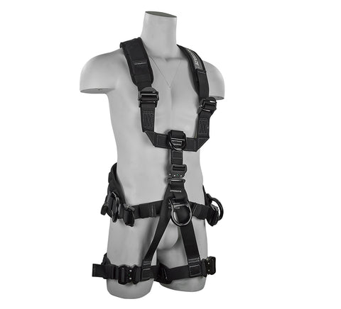 PRO+ Premium Wind/Rope Access/Rescue Harness FS227