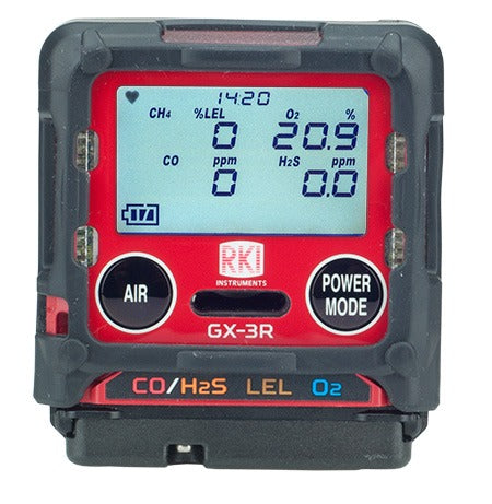 RKI GX-3R 4-Gas Monitor