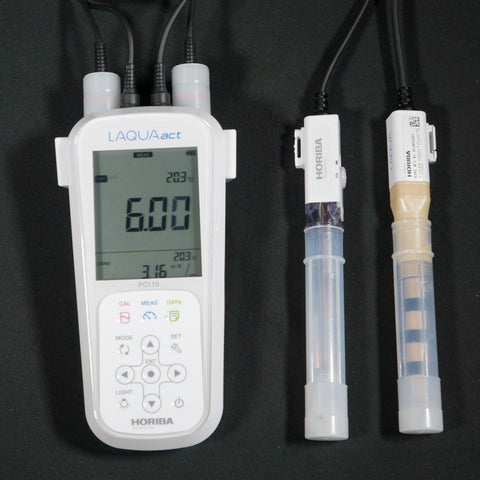 Horiba PC-110 pH/Conductivity Meter