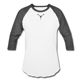 Team ESDEATH Baseball T-Shirt - white/charcoal