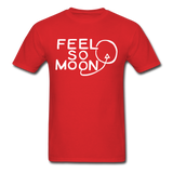 FEEL SO MOON Basic T (Dark) - red