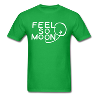 FEEL SO MOON Basic T (Dark) - bright green