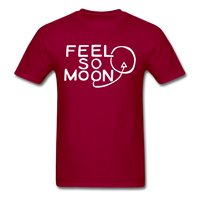 FEEL SO MOON Basic T (Dark) - dark red