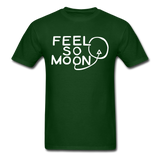 FEEL SO MOON Basic T (Dark) - forest green