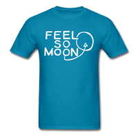 FEEL SO MOON Basic T (Dark) - turquoise