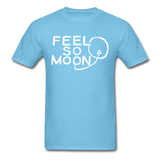 FEEL SO MOON Basic T (Dark) - aquatic blue