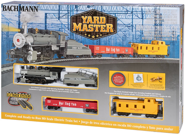 Bachmann 00761 Union Pacific UP Yard Master Train Set HO SCALE