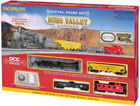 Bachmann 00825 Southern Railroad 2-6-0 Echo Valley Express Train Set HO SCALE with Digital Sound DCC