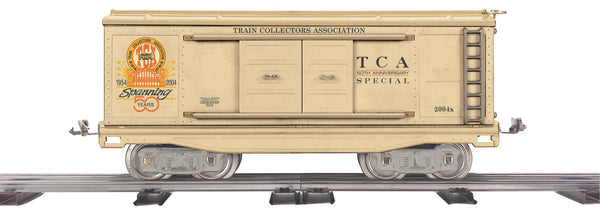 MTH 10-2062 Train Collectors Association TCA 50th Anniversary Boxcar 200 Series  Std. Gauge