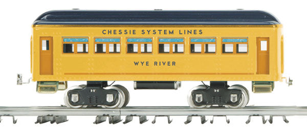 MTH 10-5049 Chessie Wye River 330 Series Passenger Car No. 339 Standard Gauge