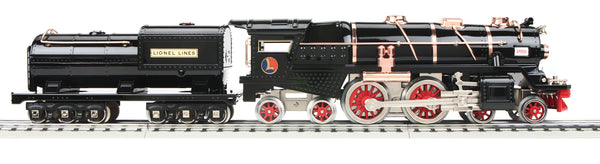 MTH 11-1073-1 Lionel Lines (Black/Brass) 400E Tinplate Steam Engine w/Proto-Sound 3.0 - Tinplate Standard Gauge