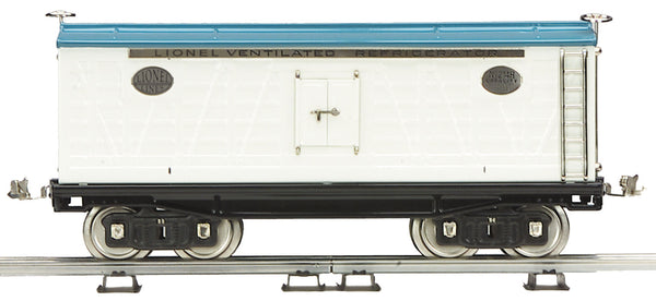 MTH 11-30008 Standard Gauge Lionel Corporation Tinplate No. 214R  Refrigerator Car