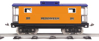 MTH 11-30064 Caboose No. 217 Illuminated Caboose Standard Gauge Tinplate