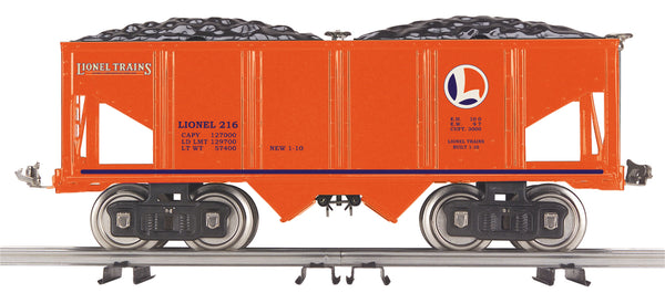 MTH 11-30085 Standard Gauge Lionel Corporation Tinplate No. 216 Hopper Car