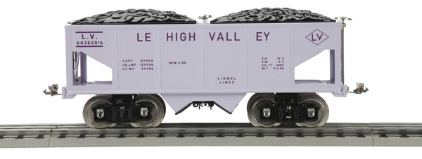 MTH 11-30158 Lehigh Valley Girls Hopper Car 216 Standard Gauge Tinplate