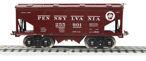 MTH 11-30209 Pennsylvania Railroad PRR Lionel Corporation Tinplate No. 216 Covered Hopper Standard Gauge Tinplate