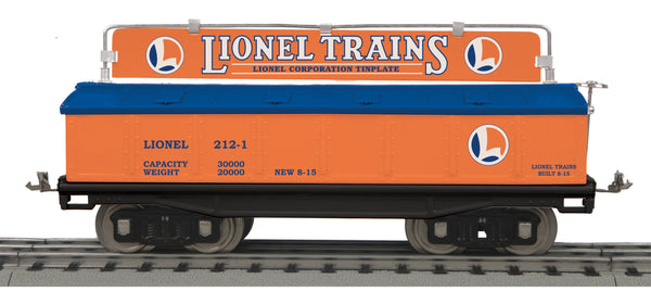 MTH 11-30214 Lionel Lines Standard Gauge Covered Gondola Car Tinplate