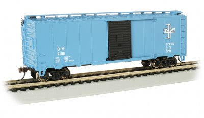 Bachmann 16003 Boston & Maine B&M 40' PS-1 Boxcar #2109 HO Scale