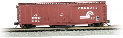 Bachmann 16369 Conrail Track Cleaning 50' Plug-Door Boxcar #229657 N Scale