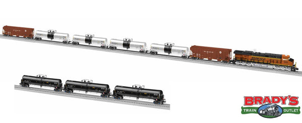 Lionel 1922060 BNSF ES44AC Oil Train Set BTO Built to Order with add on cars 1926790