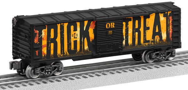 Lionel 1928380 Trick or Treat Halloween Sound Boxcar