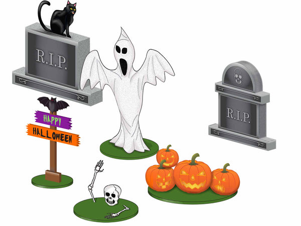 Lionel 1930080 Halloween Lawn Figures O Scale