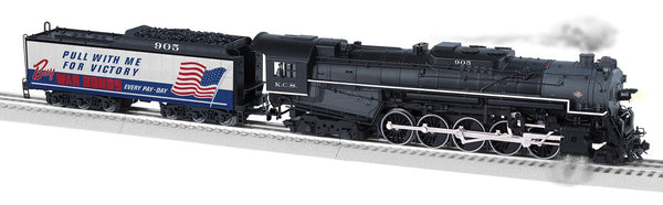 Lionel 1931740 Kansas City Southern 2-10-4 Legacy Steam Locomotive #905  BTO Built to order