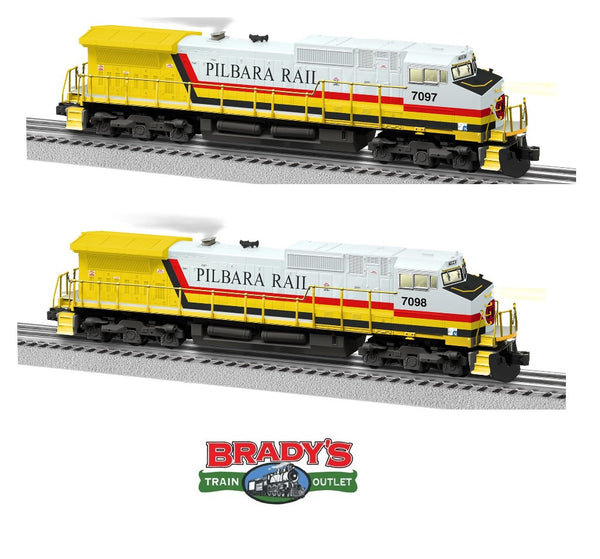 Lionel 1933242 Pilbara Rail Legacy C44-9W #7097 and Lionel 1933243 Pilbara Rail Legacy C44-9@ #7098 Non Powered Built to Order