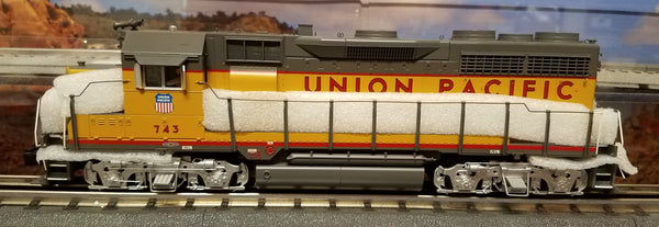 MTH Premier 20-20131-1 Union Pacific UP GP-35 Low Diesel Engine w/Proto-Sound 2.0 (Hi-Rail Wheels) Used