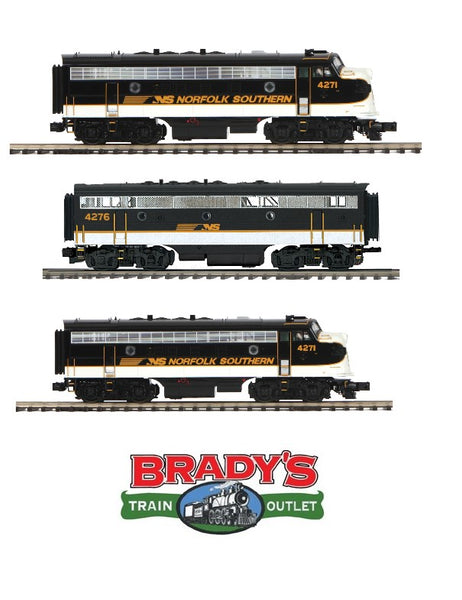 MTH Premier 20-20557-1 Norfolk Southern NS F-7 with 20-20557-3 F-7B and 20-20557-4 F-7 A