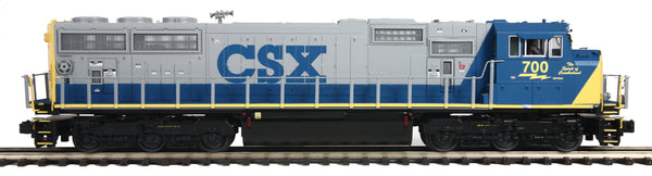 MTH Premier 20-21199-1 CSX (Spirit of Cumberland) SD70Mac Diesel Engine w/Proto-Sound 3.0 (Hi-Rail Wheels)