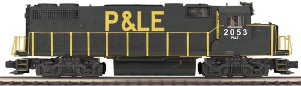MTH Premier 20-2665-3 Pittsburgh & Lake Erie P&LE GP38-2 Diesel Engine Non Powered Cab #2053