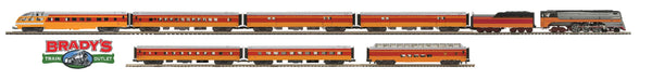 MTH Premier 20-3438-1 Milwaukee Road Hiawatha 4-6-4 Steam Engine with 7 Passenger Cars