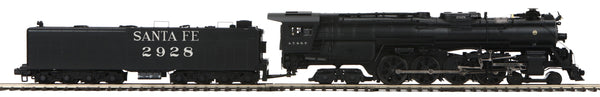 MTH Premier Santa Fe SF (Atchison, Topeka and Santa Fe) 4-8-4 Northern Steam Engine w/Proto-Sound 3.0 (Hi-Rail Wheels)