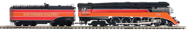 MTH Premier 20-3750-1 Southern Pacific SP (Daylight - Large Lettering) 4-8-4 GS-4 Steam Engine w/Proto-Sound 3.0 (Hi-Rail Wheels) - Cab #4438
