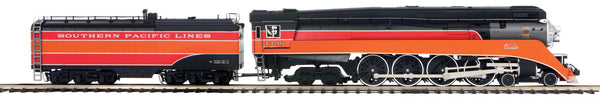 MTH Premier 20-3752-1 Southern Pacific Lines SP (Daylight Small Lettering) 4-8-4 GS-4 Steam Engine w/Proto-Sound 3.0 (Hi-Rail Wheels) -  Cab No. #4436