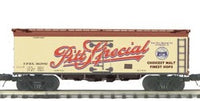 MTH Premier 20-5580B Fort Pitt Brewing 36' Woodsided Reefer