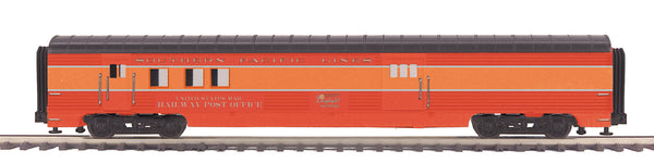 MTH Premier 20-68298 Southern Pacific Lines 70' Streamlined RPO Passenger Car (Ribbed Sided) - Car No. 5034