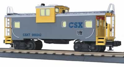 MTH Premier 20-90019F CSX Extended Vision Caboose