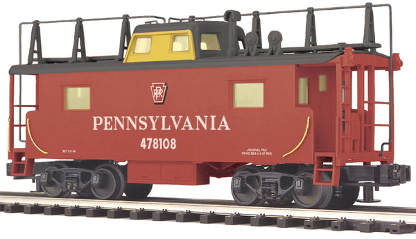 MTH Premier 20-91098 Pennsylvania Railroad PRR N8 Caboose #478108 Used