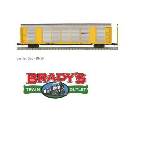 MTH Premier 20-92044 BNSF Corrugated Auto Carrier