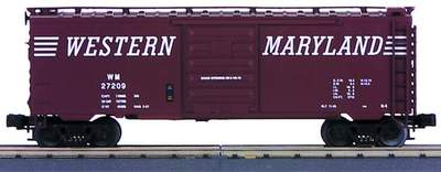 MTH Premier 20-93009 Western Maryland WM Scale Box Car # 27209