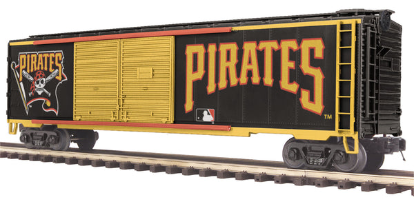 MTH Premier 20-93529 Pittsburgh Pirates MLB Double Door 50' Box Car