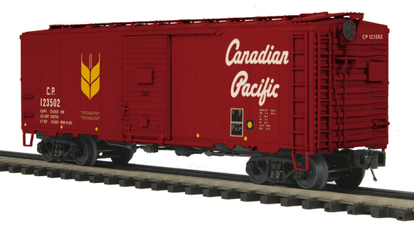 MTH Premier 20-93406 Canadian Pacific CP 40' AAR Boxcar #123510