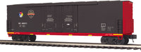 MTH Premier 20-93698 Norfolk Southern NS First Responders Hazmat Safety Train 50' Dbl. Door Plugged Boxcar - No. 490411 Display